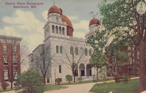 BALTIMORE , Maryland , 1916 ; Eutaw Place Synagogue