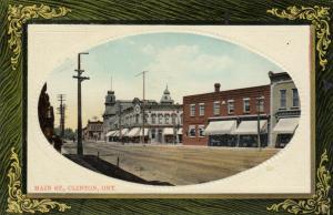 CLINTON , Ontario , 1918 ; Main Street