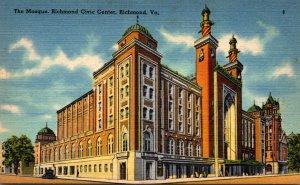 Virginia Richmond Civic Center The Mosque