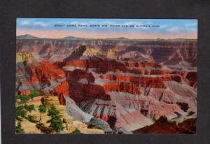 AZ Bright Angel Point Grand Canyon National Park North Rim Postcard Arizona