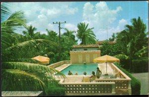 Florida DELRAY BEACH Gloria Apartments 30-40-50 Andrews Ave - pm1959 - Chrome
