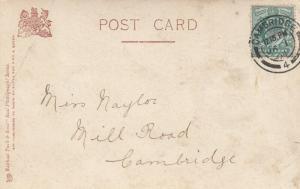 RP: LONDON , England , 1904 ; Princess's Theatre ;The Fatal Wedding ; TUCK