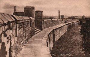 City Walls,York,England,UK
