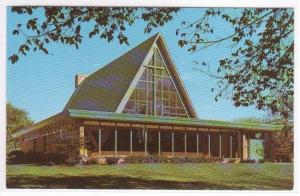 Bashford Methodist Church Madison Wisconsin 1960s postcard