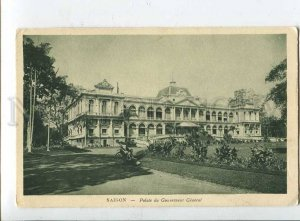 415846 VIETNAM SAIGON Governor's Palace Vintage postcard