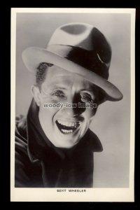 b1628 - Film Actor - Bert Wheeler - Picturegoer No. 515 - postcard