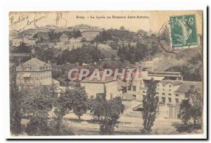 Old Postcard Briey the lifting or brewery Saint Anthony