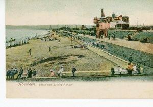 SCOTLAND   ABERDEEN    BEACH &  BATHING  STATION      1920/30s