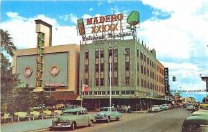 Nuevo Laredo Mexico Street View Old Cars Postcard