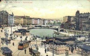 Franz Josef Kai, Marienbrucke Wien, Vienna Austria Postal Used Unknown