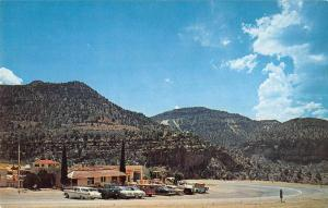 Show Low Arizona Canyon Inn Street View Vintage Postcard K61805