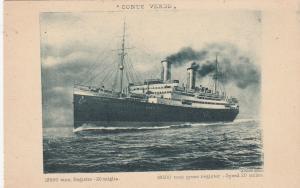 Llyd Sabaudo Ocean Liner CONTE VERDE , 1920s