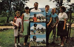 Dr Marvin Piburn in Africa Maine Methodists Missionary Vintage Postcard J76208