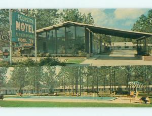 Unused Pre-1980 POOL & FOLKSTON MOTEL Folkston Georgia GA u5171@