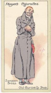 Cigarette Cards Players Characters From Dickens No 29 Sampson Brass