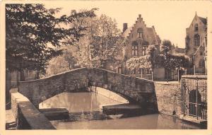 Belgium Brugge St-Bonifaciusbrug, Le Pont St-Boniface Bridge
