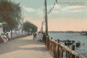 TORONTO , Ontario, 1900-10s ; Hanlan's Point , Boardwalk