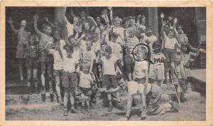 White Haven PA~Camp Daddy Allen (Philadelphia Society for Crippled)~Kids Note Bk