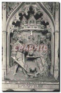 Old Postcard Amiens History of St. John the Baptist St. John the Baptist Deco...