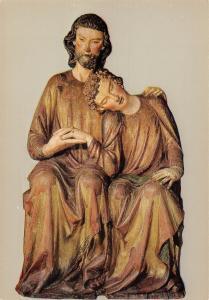 Meester Heinrich, Konstanz Groupe du Christ St. Jean, Anvers, Museum Mayer Bergh