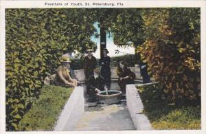 Florida St Petersburg The Fountain Of Youth
