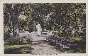 New York Syracuse Foreman Park