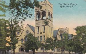 First Baptist Church, Spartanburg, South Carolina, PU-1914