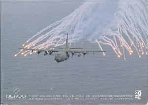 Advertising P. C. Derco Aeospace Modern Military Aircraft