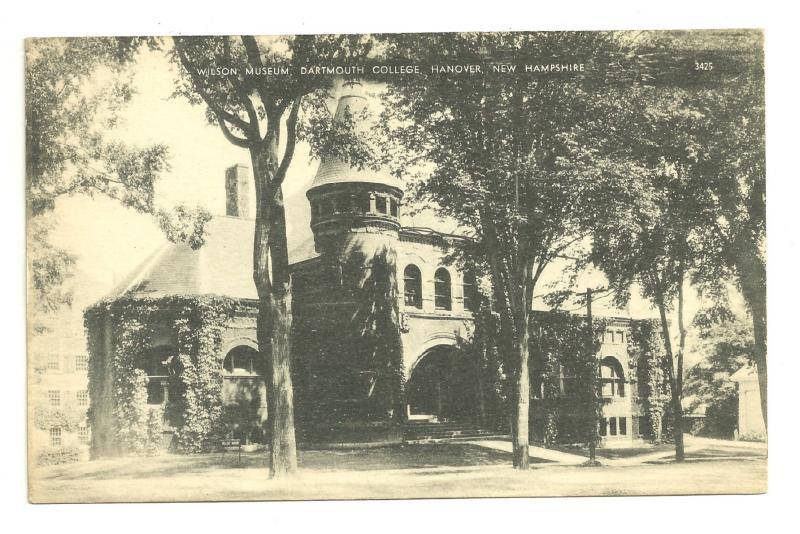 Wilson Museum, Dartmouth College, Hanover, New Hampshire, RPPC