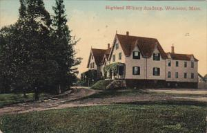 Highland Military Academy, Worcester,  Massachusetts, PU-1916
