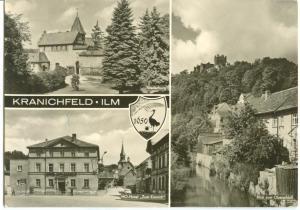 Germany, Kranichfeld, ILM, 1976 used Postcard