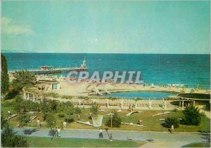 Postcard Modern Bapha Varna Golden Sand Child pool