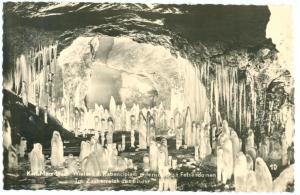 Germany, Karl-Marx-stadt winter abensteiner unterirdischen Felsendomen