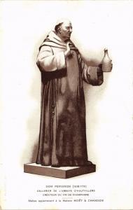 CPA  Dom Pérignon (1638-1715) -Celebrier de l'Abbaye d'Hautvillers-...  (741464)
