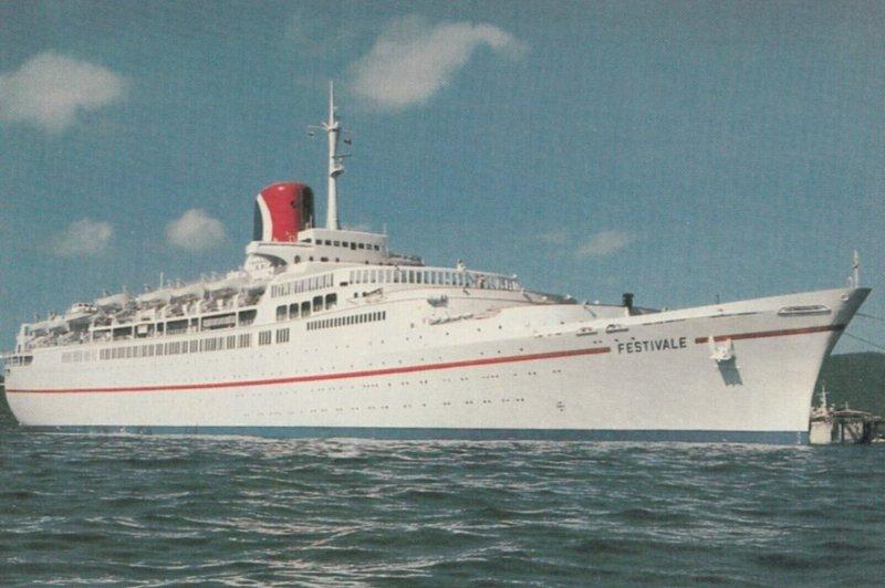 The Fun Ship FESTAVALE, 1950-60s