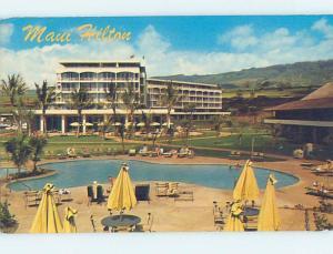 Unused Pre-1980 HILTON HOTEL Maui Hawaii HI c0569