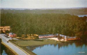 1950s Lakeshore Motor Court Restaurant Hartsville South Carolina 8052 Gillick