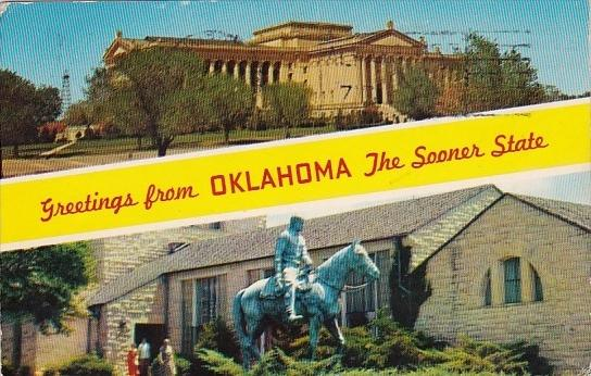 Greetings From Oklahoma The Sooner State Oklahoma 1969