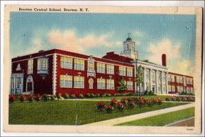 Brocton Central School, Brocton NY  (tear)