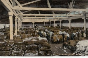 ROME , Georgia, 1900-10's ; Cotton Warehouse , Interior