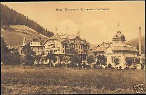 germany, TODTMOOS, Hotel Kurhaus und Luisenbad (1906)