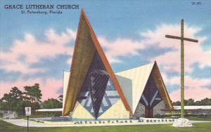 ST. PETERSBURG, Florida, 1930-1940´s; Grace Lutheran Church