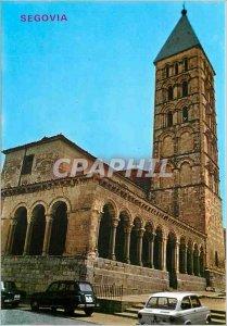 Postcard Modern Segovia Church of Saint Etienne