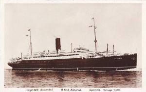 RP, Oceanliner/Steamer, R.M.S. Alaunia, 1920-1940s