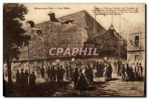 Old Postcard Dives Sur Mer halls