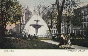 HAMILTON, Ontario, Canada, PU-1909; Gore Park, Fountain