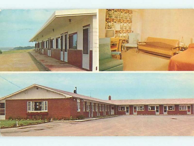 Pre-1980 SAVOIE MOTEL IN CARAQUET New Brunswick NB CANADA s8356