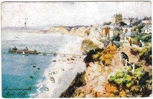 Postcard Dorset Bournemouth Tuck Oilette 1906