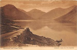 B4204 UK Wastwater and Great Gable  front/back scan