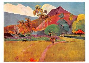 Paul Gauguin - Tahitian Mountains